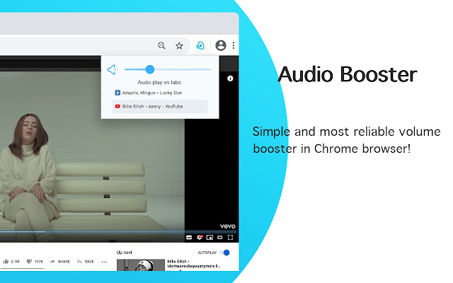 Audio Booster - increase your sound