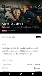 rtv TV Programm & Fernsehprogramm- screenshot thumbnail