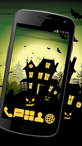 Fear House Theme GO ADW APEX