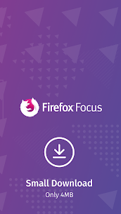 Firefox Focus : The privacy browser 4
