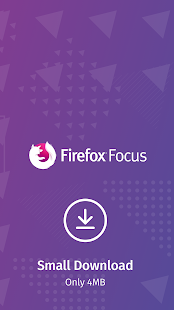 Firefox Focus: The privacy browser- screenshot thumbnail
