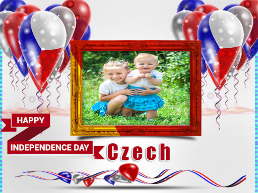 玩免費攝影APP|下載Independence Day Czech Frames app不用錢|硬是要APP