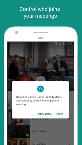 Google Meet screenshot 2