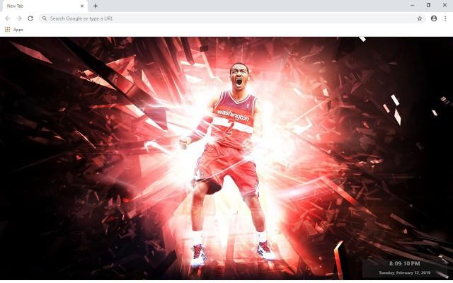 John Wall NBA New Tab & Wallpapers Collection