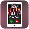 Rose (Blackpink) Fake Call App icon