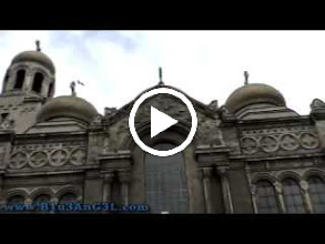 Video: bulgaria, travel, varna, cathedral, dormition, theotokos