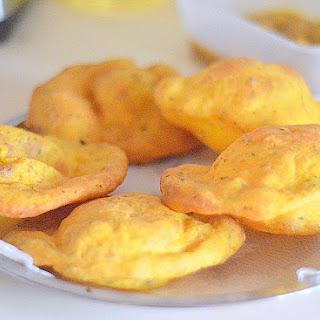 Kasuri Methi Baturas - Easy Indian Deep Fried Bread.