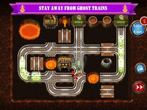 Rail Maze 2 : Train puzzler  gameplay | by HackJr.Pw 15