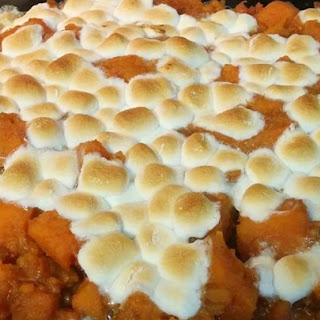 Candied Sweet Potatoes With Marshmallows Recipes