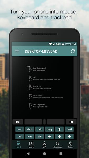 VLC Mobile Remote Premium Screenshot Image