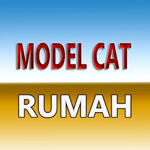model cat dinding