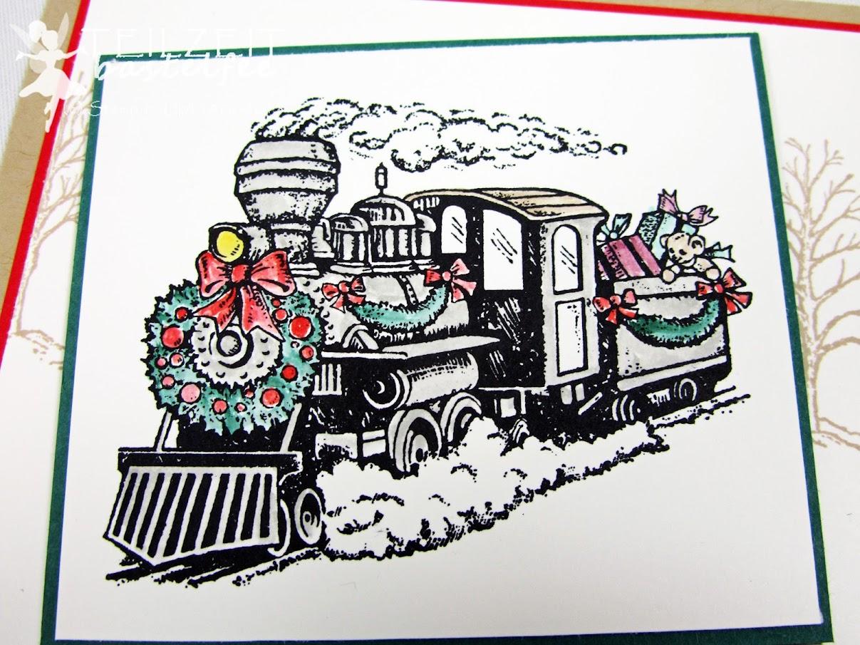 Stampin' Up! - Inkspire_me, Christmas Magic, Santa's Workshop, Weihnachtswerkstatt, Weihnachten, Xmas