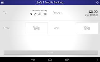 Screenshot of Safe 1 Credit Union