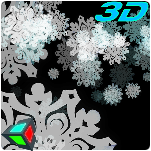 Snowflakes 3D Live Wallpaper