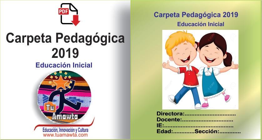 Carpeta Pedagógica de Educación Inicial 2019 (PDF)