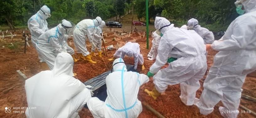 Buyung Syahrul Siregar Meninggal Dunia Positif Terinfeksi Covid-19