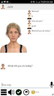 My Virtual Girlfriend Julie - Offline screenshot