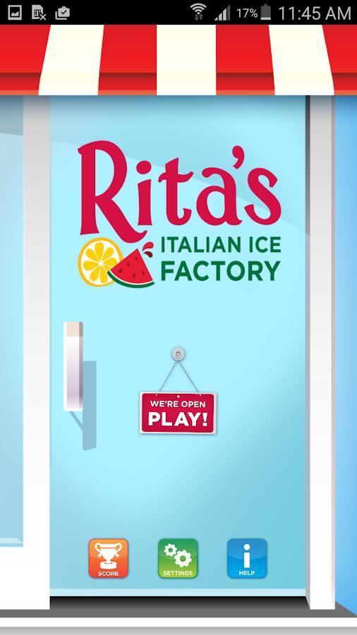 Rita's Ice- screenshot