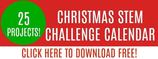 christmas stem challenge calendar