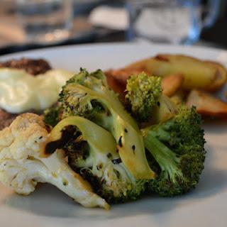 Grilled Broccoli Cauliflower Salad.