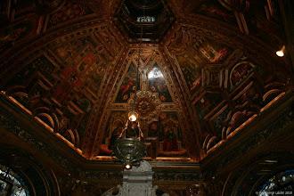 Photo: kápolna mennyezet