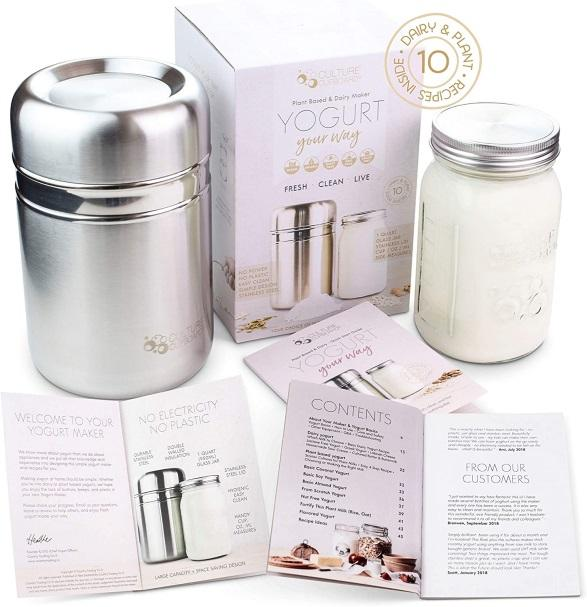 COUNTRY TRADING CO. STAINLESS STEEL yogurt MAKER