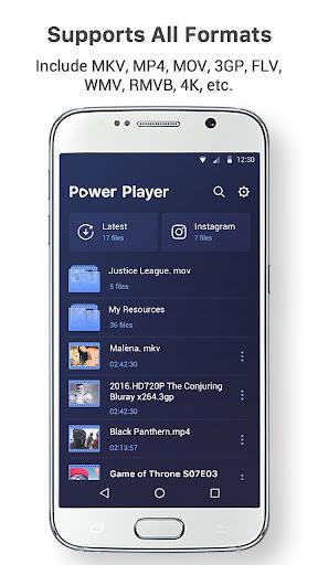 Power Video Playeruff0dwmv, 4k video, video downloader 1.7.0 screenshots 3