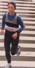 Photo: 1984 Boston Marathon, qualifying for Olympic Trials Marathon