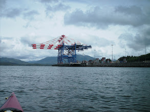 Photo: Loading docks in Prince Rupert.