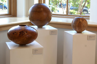 Photo: Wonderful shapes and great wood makes for a beautiful display.