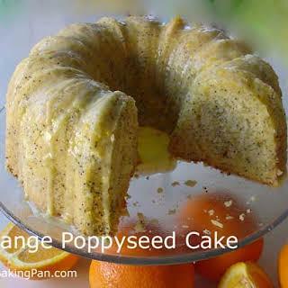 Orange Poppy Seed Cake.