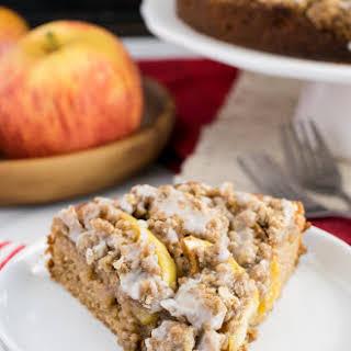Apple Crumble Cake.