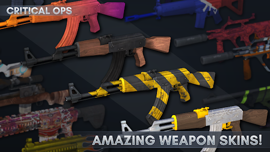 Critical Ops Mod 1.20.0.f1200 Apk [Unlimited Ammo] 2