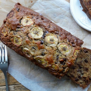 Moist Banana Chocolate Chip Bread