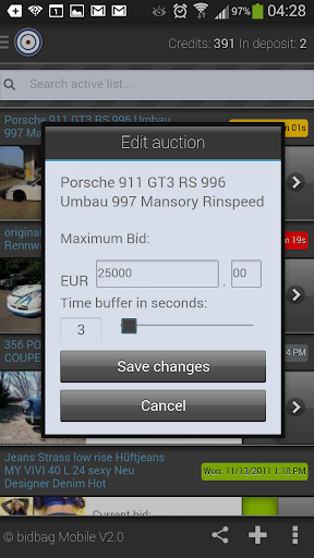 2020 Sniper For Ebay Place Automatic Bids With Bidbag Android App Download Latest