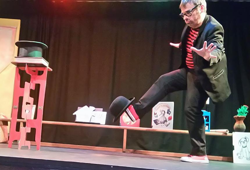 Alfonso V mago para niños en teatros