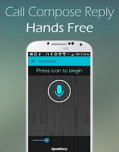 Text Aloud - Hands Free Lite- screenshot thumbnail