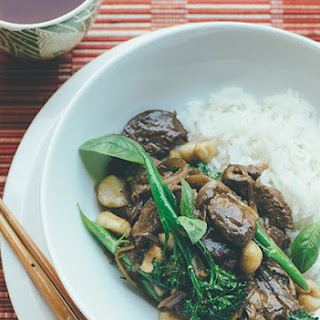 Lemongrass Beef And Macadamia Stir-fry