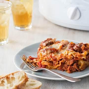 Easy Slow Cooker Sausage Lasagna | Reynolds Brands