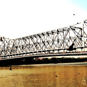 Hanging......... by Dipan Chaudhuri - Buildings & Architecture Bridges & Suspended Structures