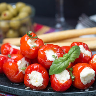 Cream Cheese & Ricotta Stuffed Peppadew Peppers Recipe