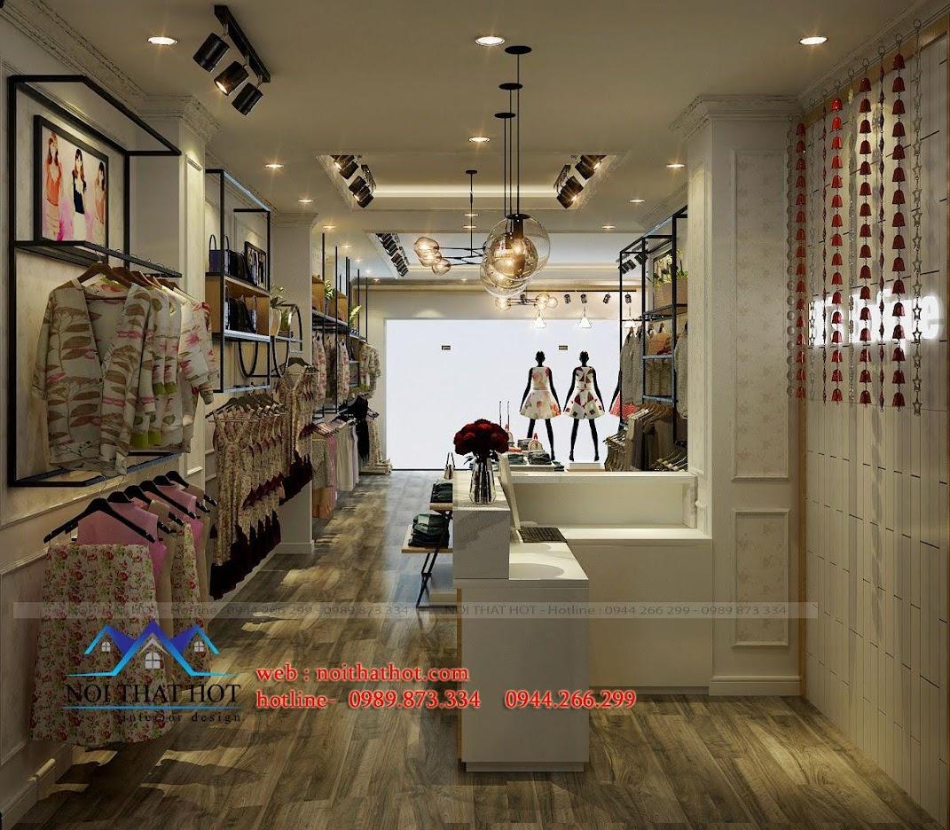 thiết kế shop thời trang nữ Bi's Boutique 8