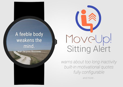 MoveUp Sitting Alert for Wear