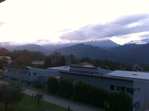 Photo: French Alps in the morning