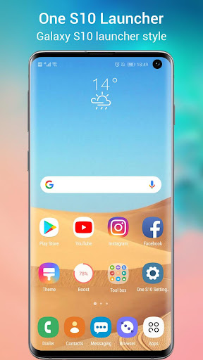 One S10 Launcher - S10 Launcher style UI, feature 3.2 screenshots 1