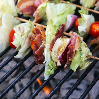 Grilled Wedge Salad Skewers Recipe