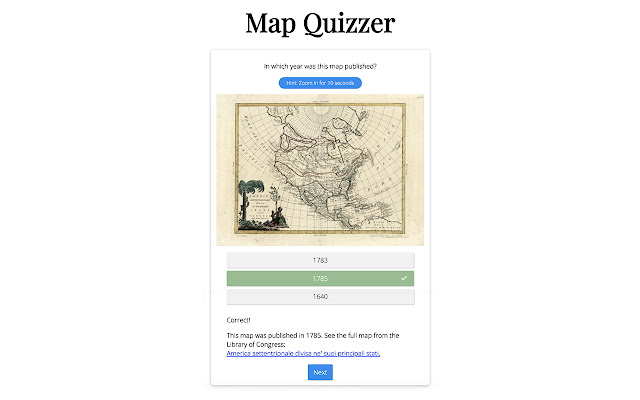 Map Quizzer