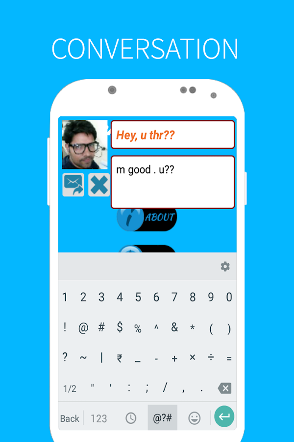 Floating SMS- screenshot