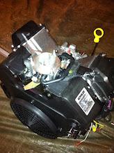 Photo: démontage turbine+filtre à air
