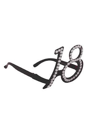 Glasögon 18, svarta